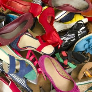 Shoes - Poly picks a pair of